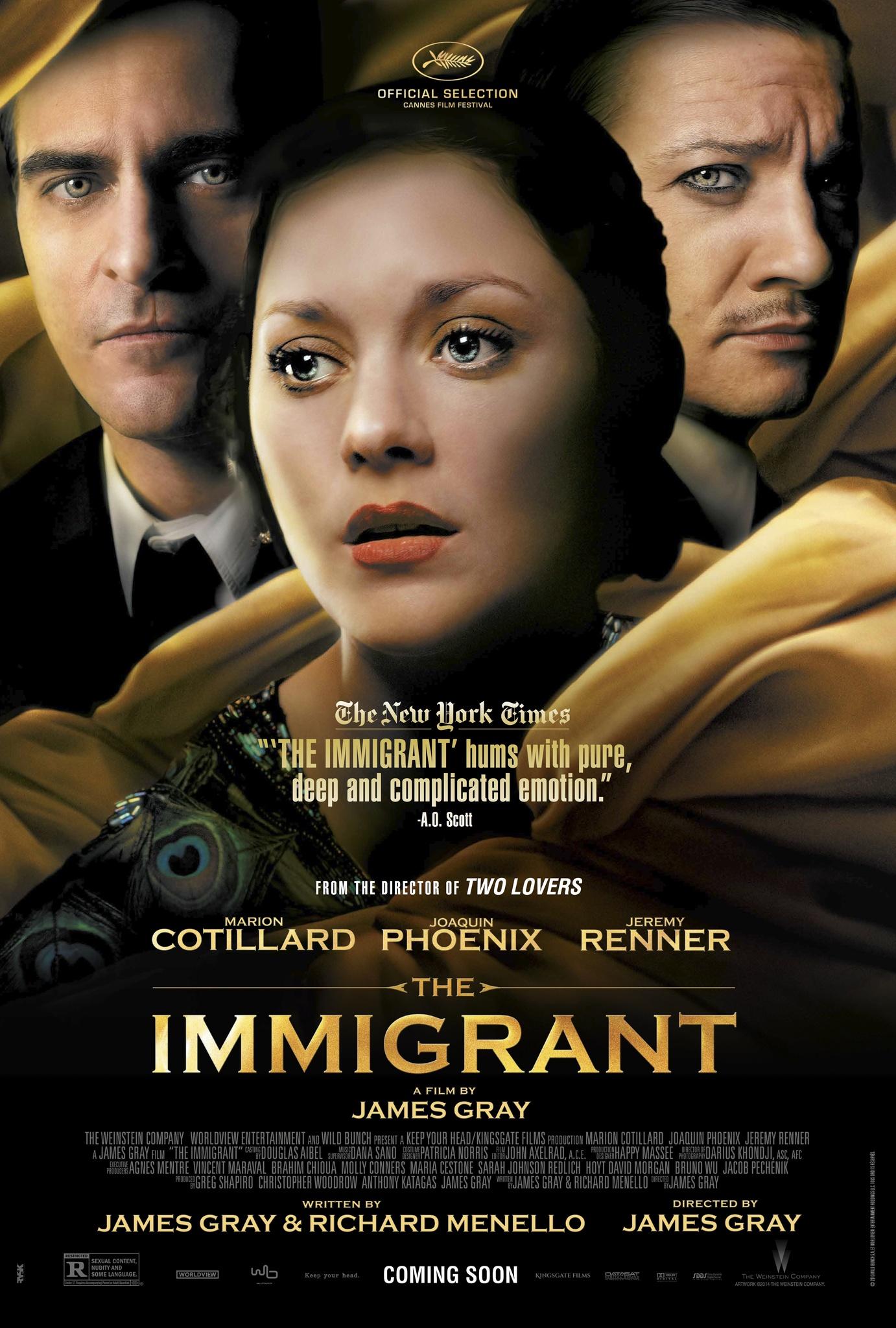 The Immigrant kapak