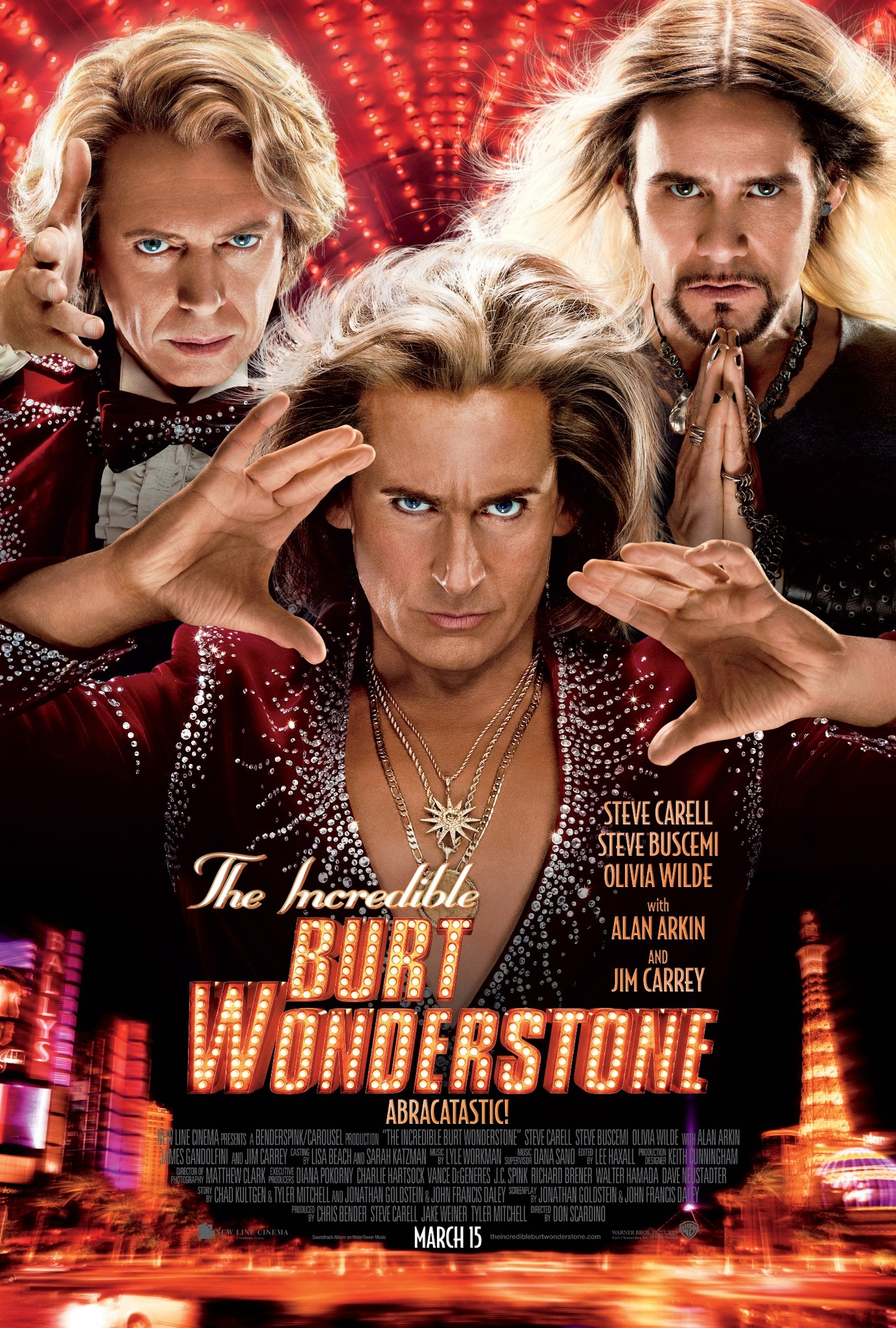 The Incredible Burt Wonderstone kapak