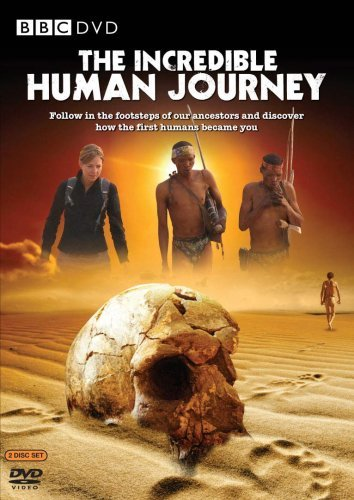The Incredible Human Journey kapak