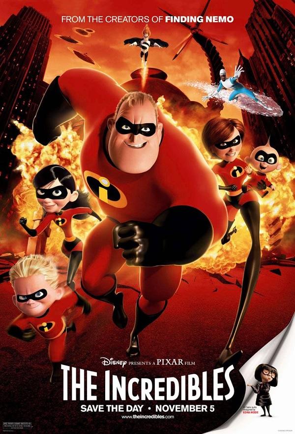 The Incredibles kapak