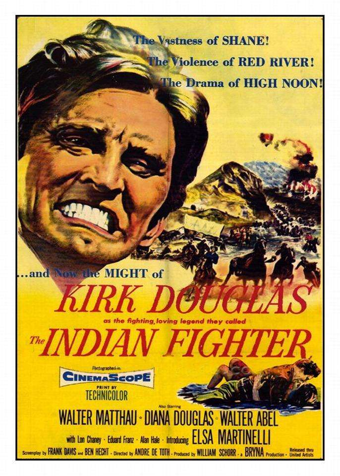 The Indian Fighter kapak