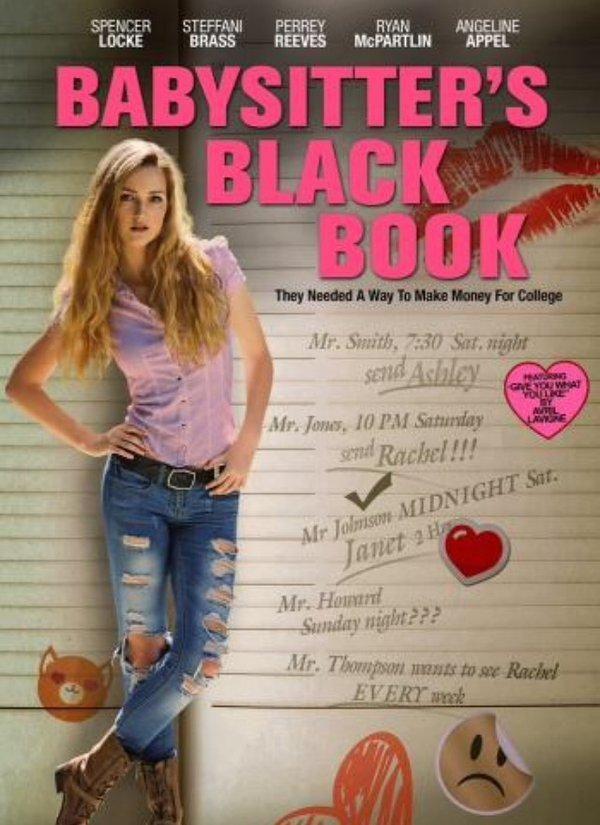 Babysitter's Black Book kapak