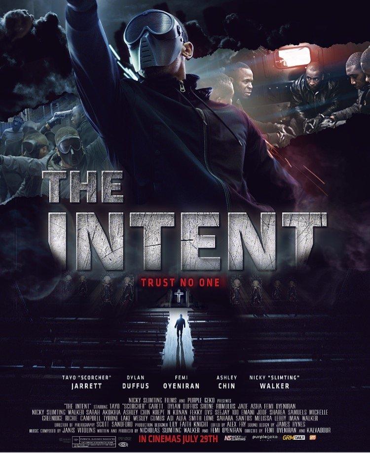 The Intent kapak