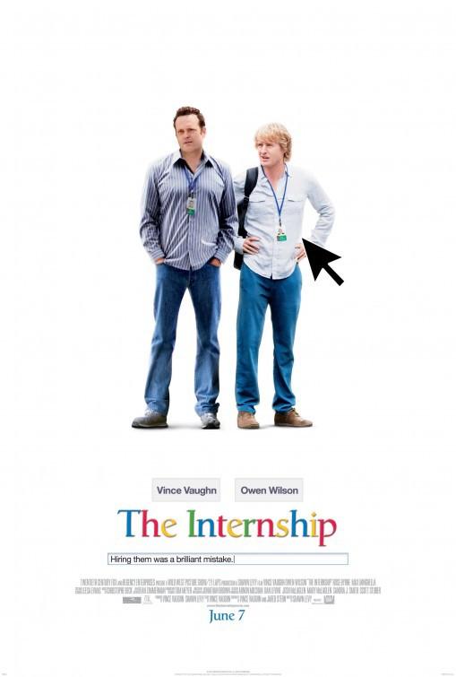 The Internship kapak