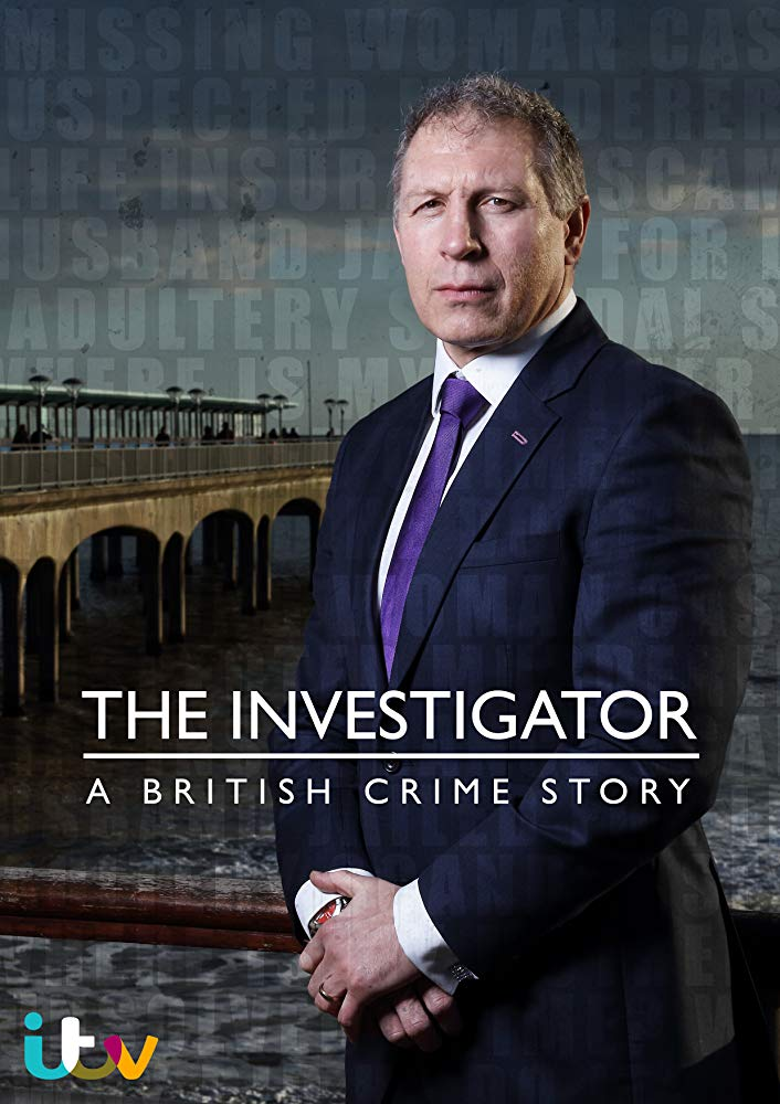 The Investigator: A British Crime Story kapak