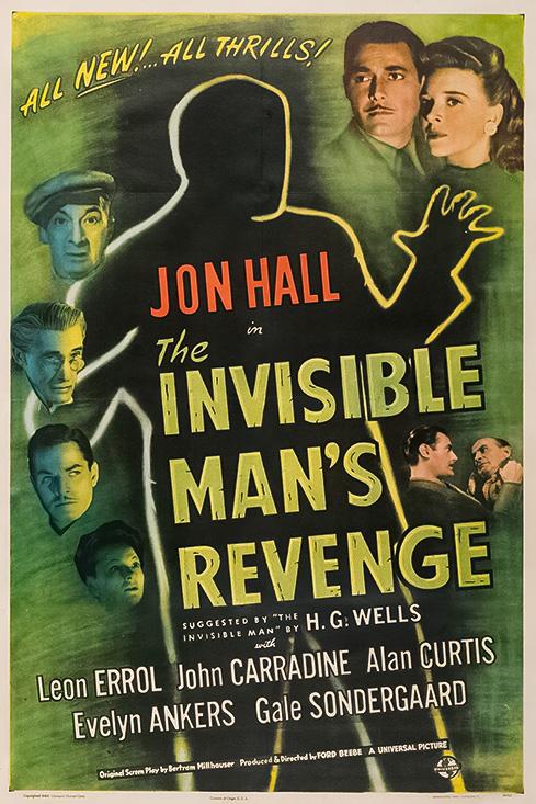 The Invisible Man's Revenge kapak