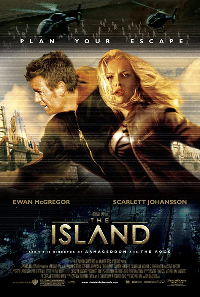 The Island kapak