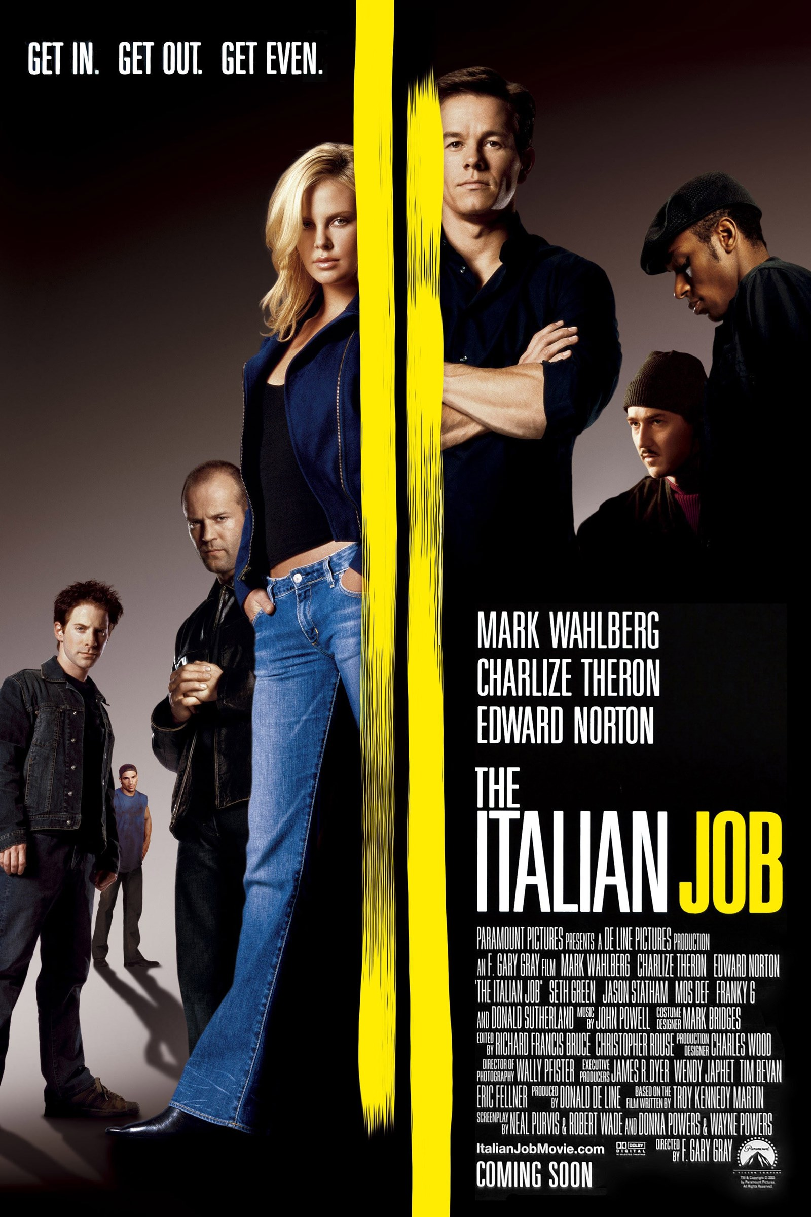 The Italian Job kapak