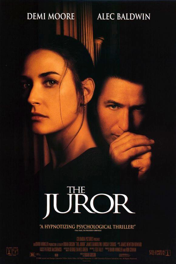 The Juror kapak