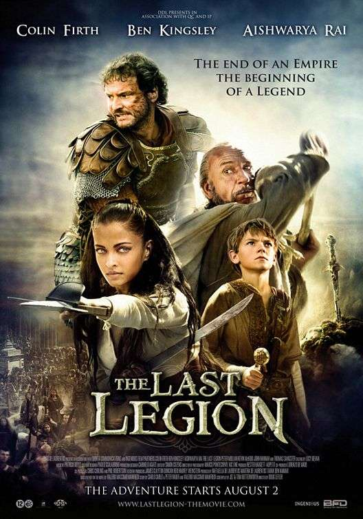 The Last Legion kapak