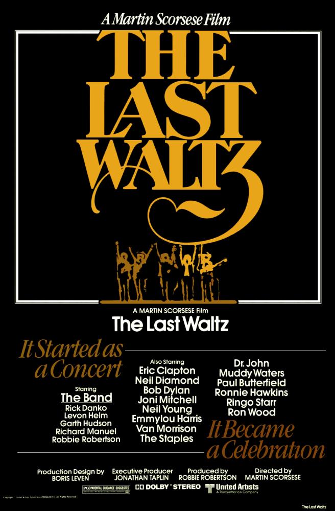 The Last Waltz kapak
