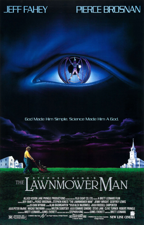 The Lawnmower Man kapak
