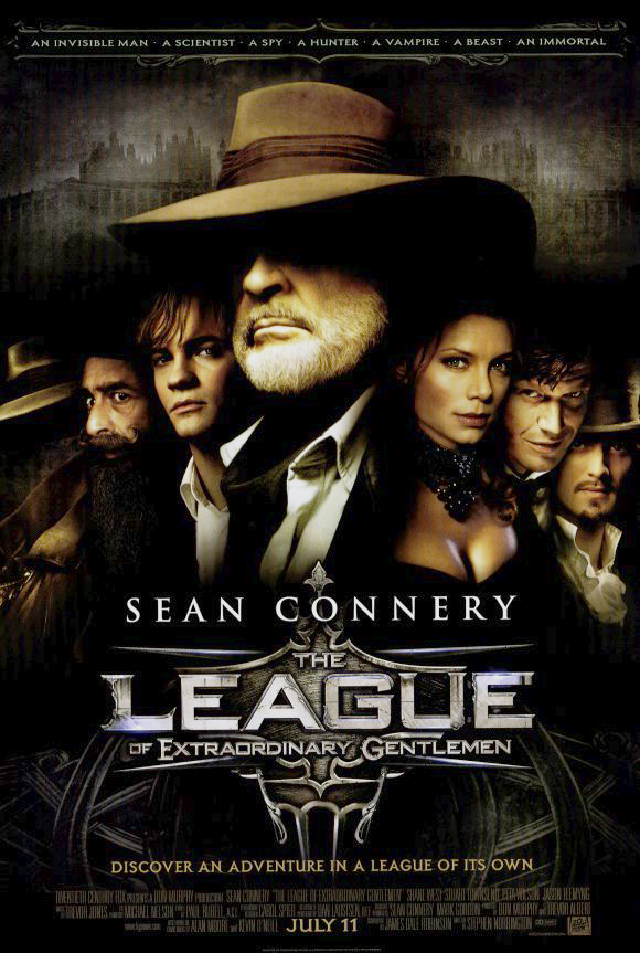 The League of Extraordinary Gentlemen kapak