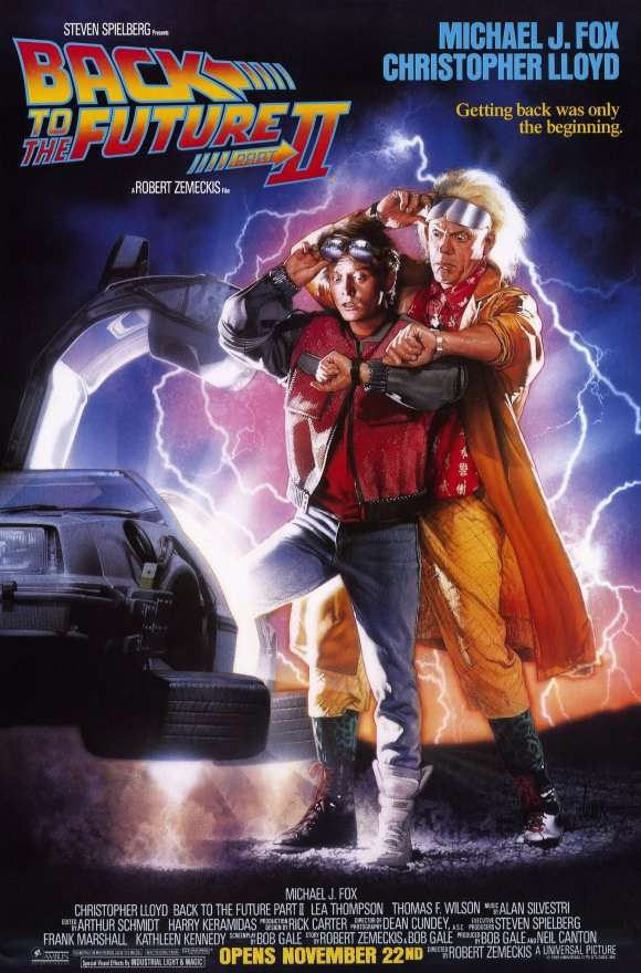 Back to the Future Part II kapak