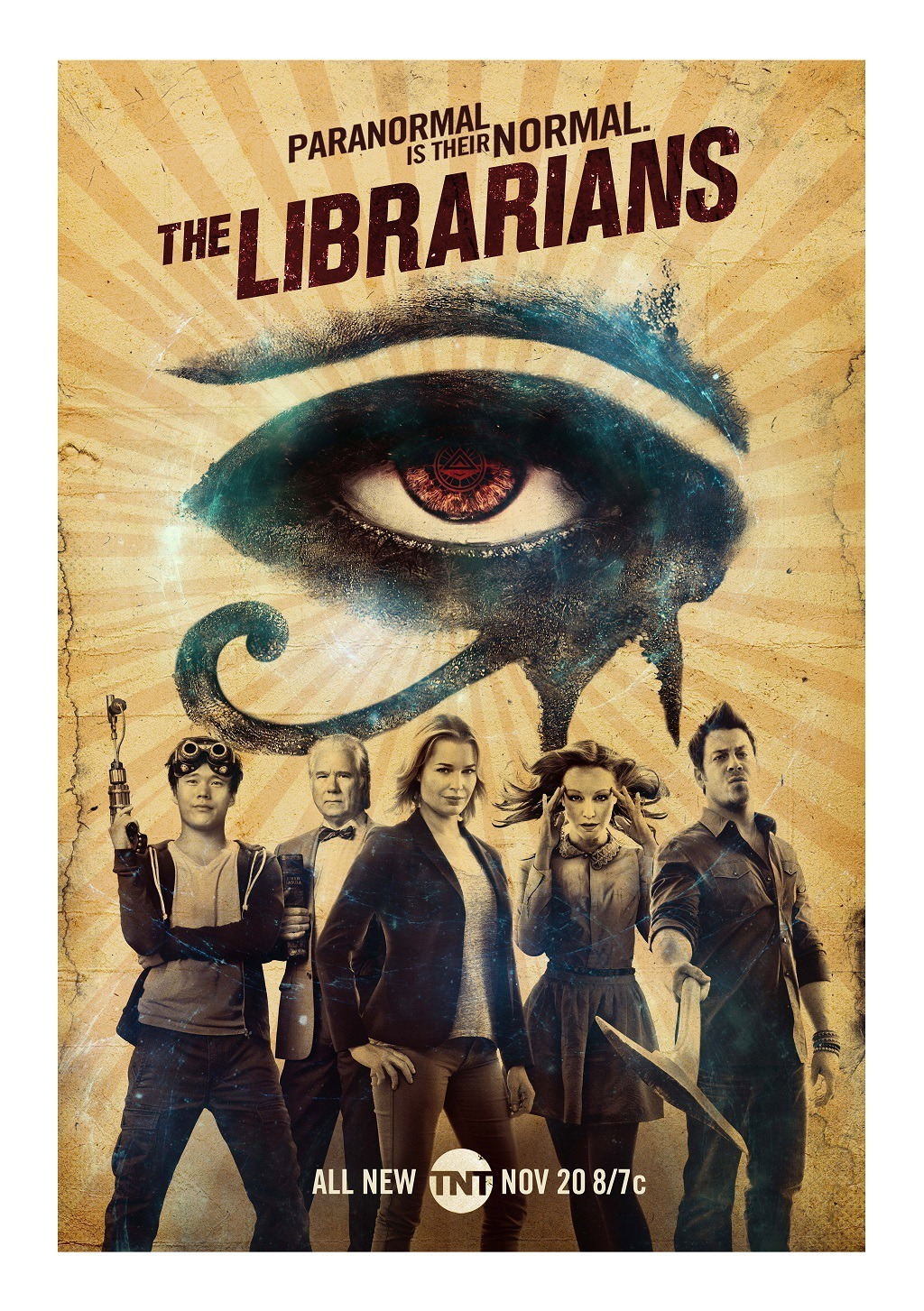 The Librarians kapak