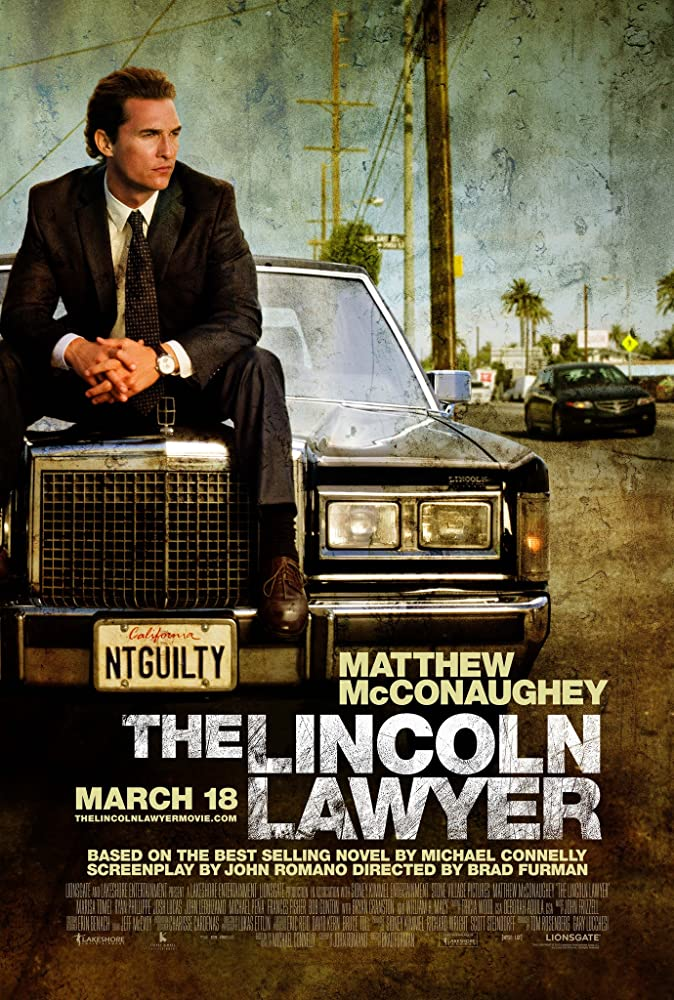 The Lincoln Lawyer kapak