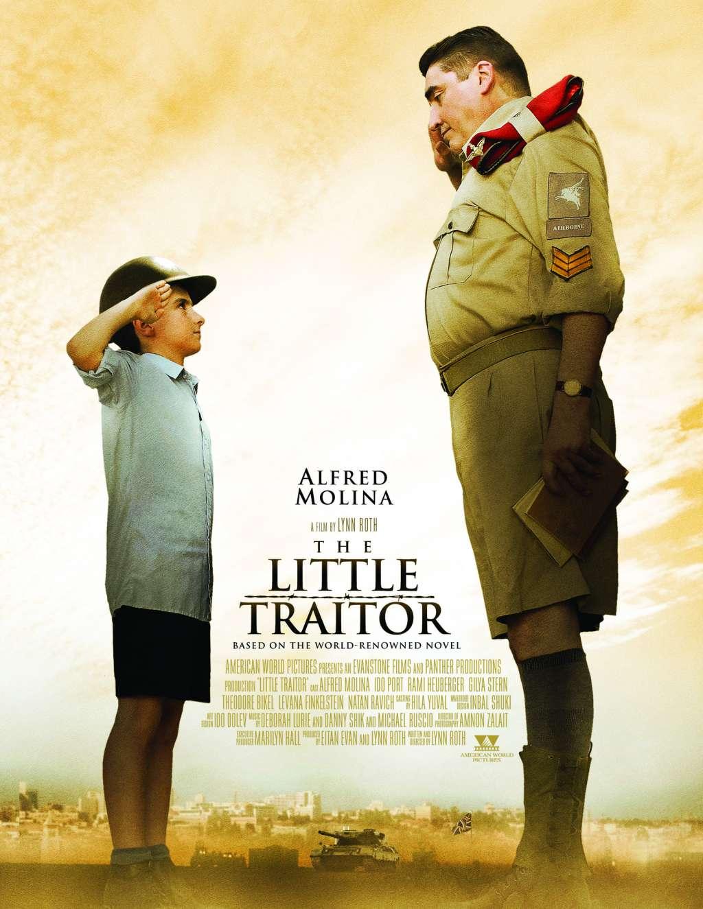 The Little Traitor kapak