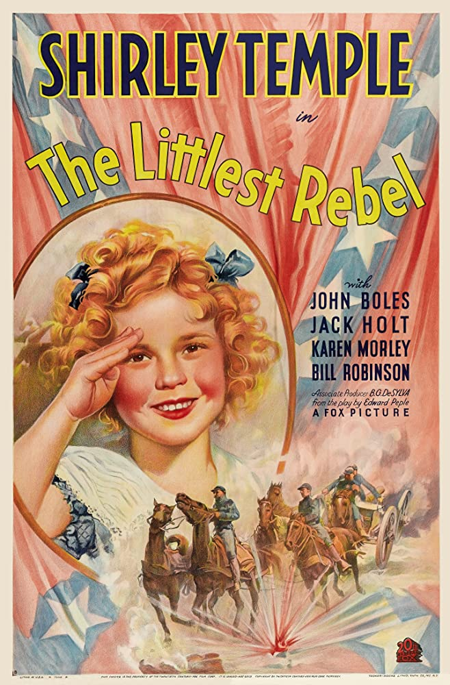 The Littlest Rebel kapak