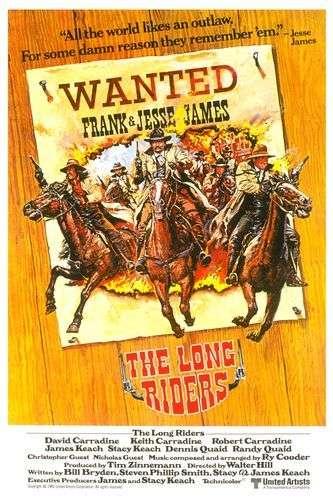 The Long Riders kapak