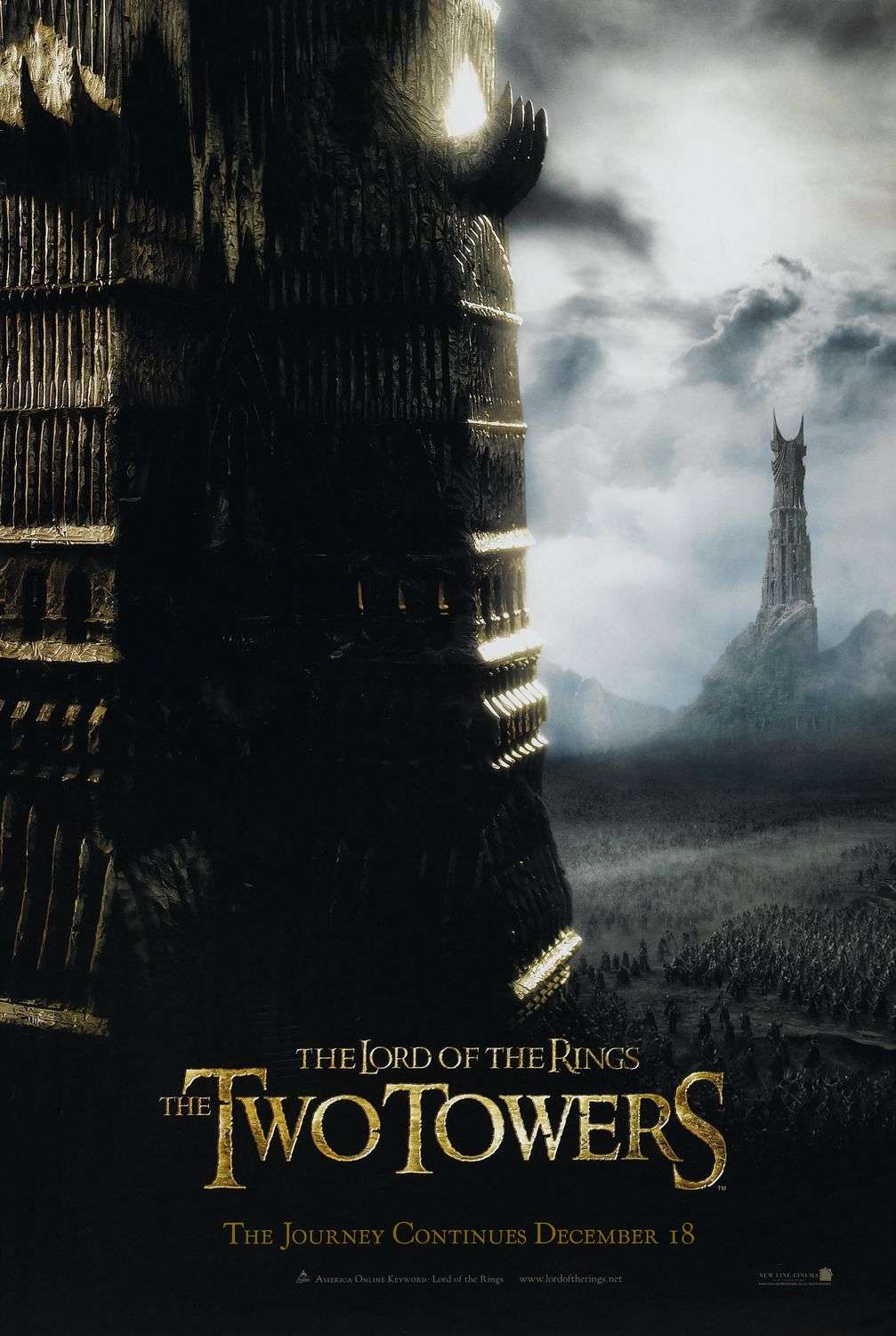The Lord of the Rings: The Two Towers kapak