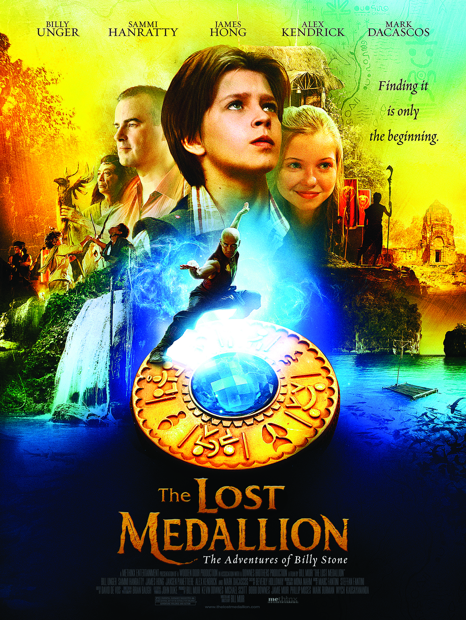 The Lost Medallion: The Adventures of Billy Stone kapak