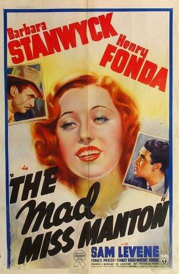 The Mad Miss Manton kapak