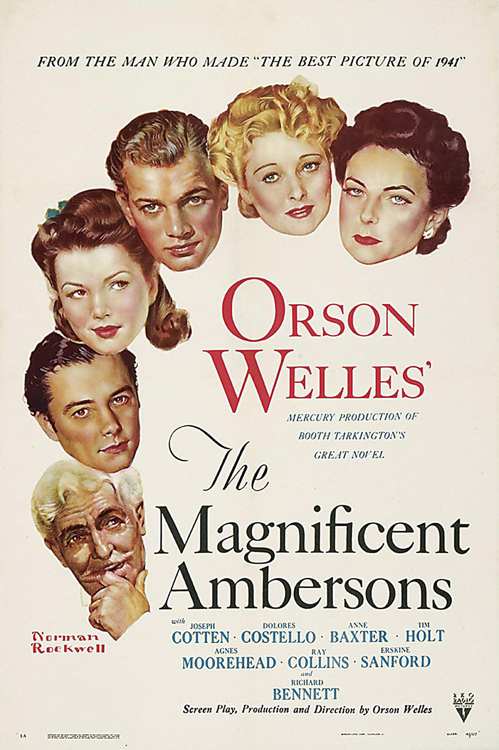 The Magnificent Ambersons kapak