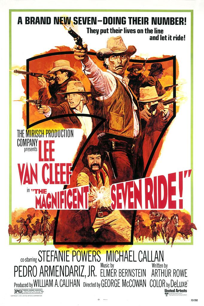 The Magnificent Seven Ride! kapak