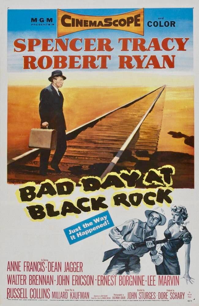 Bad Day at Black Rock kapak