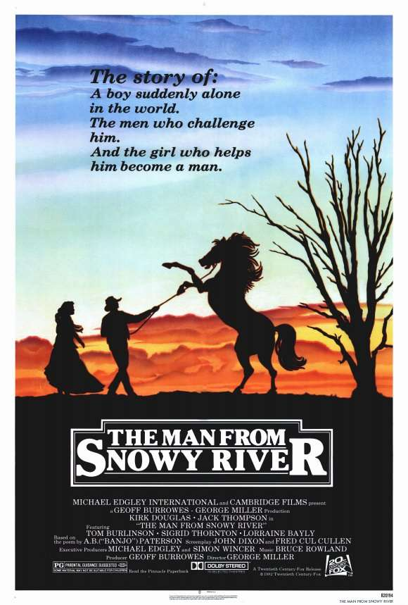 The Man from Snowy River kapak
