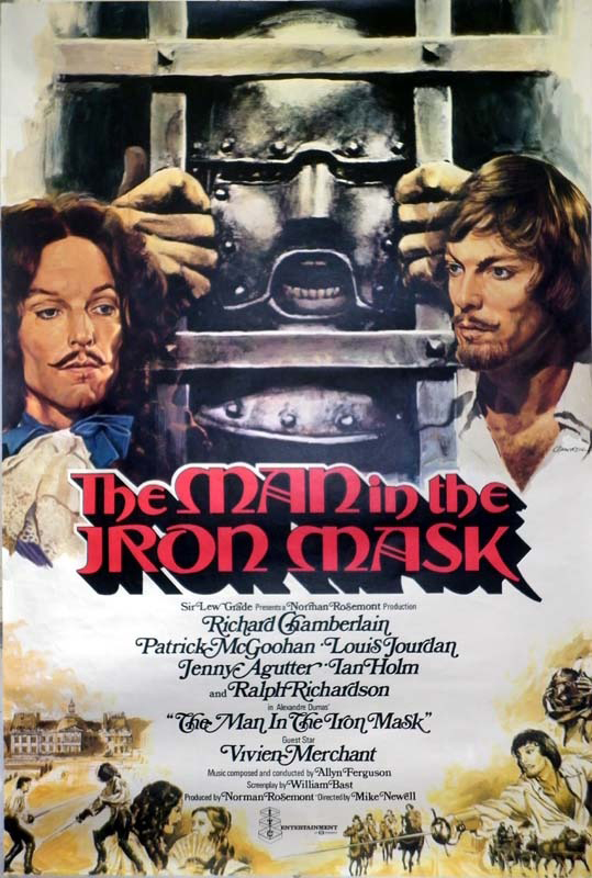 The Man in the Iron Mask kapak