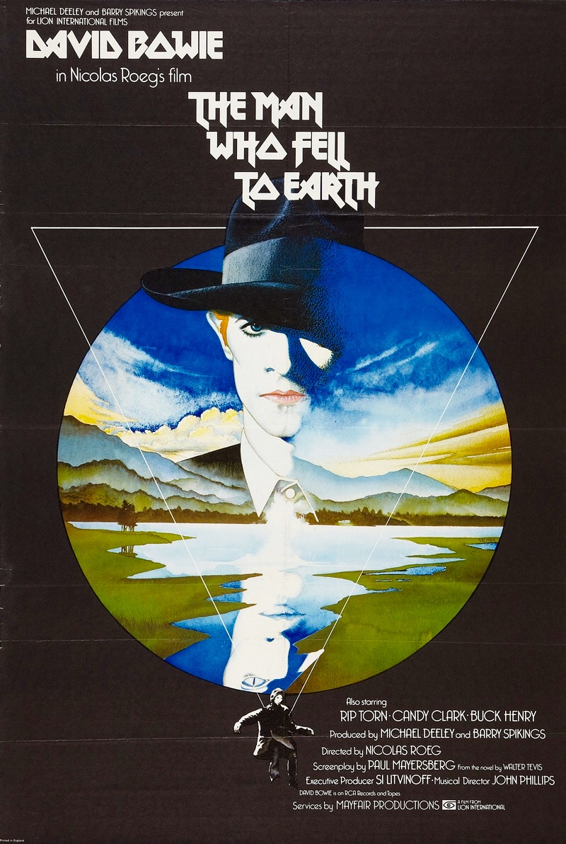 The Man Who Fell to Earth kapak