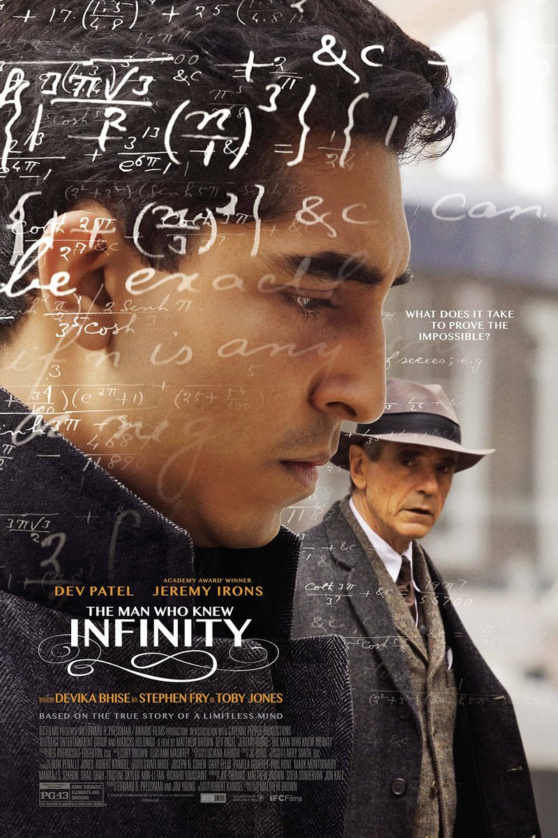 The Man Who Knew Infinity kapak