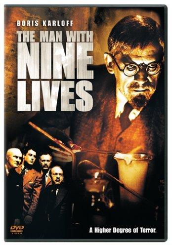The Man with Nine Lives kapak