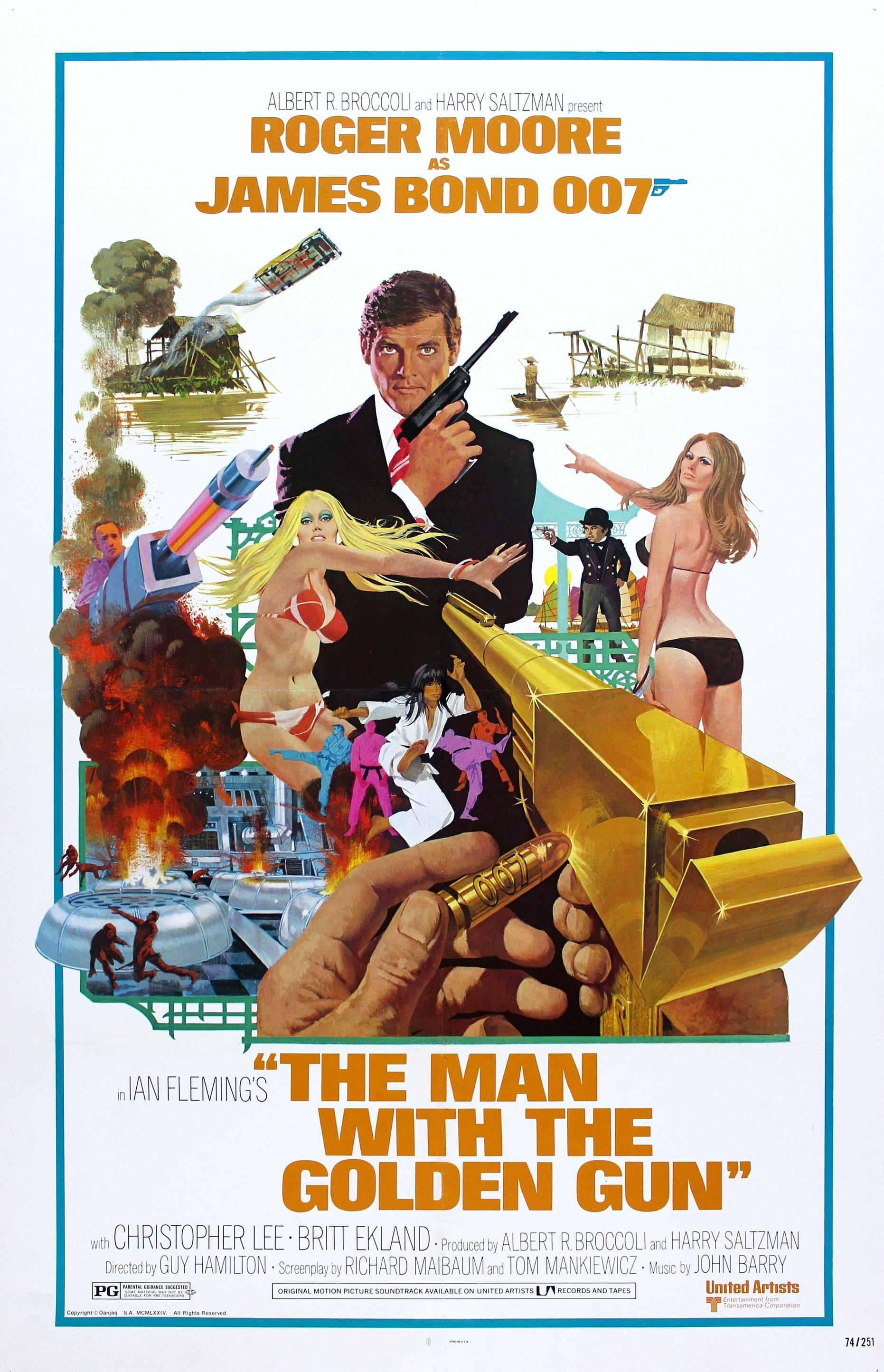 The Man with the Golden Gun kapak