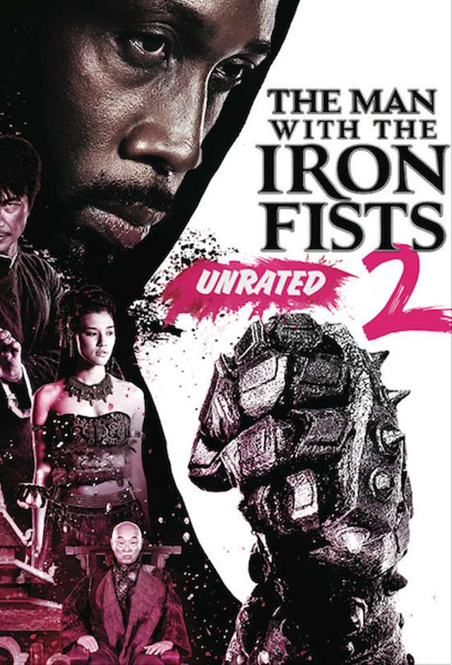 The Man with the Iron Fists 2 kapak