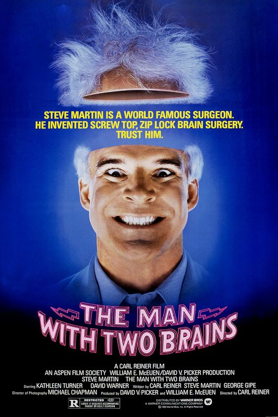 The Man with Two Brains kapak
