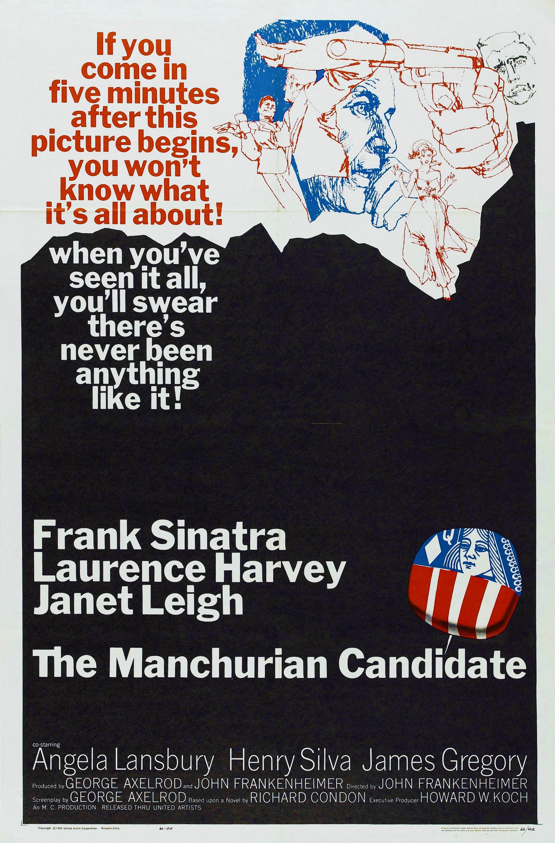 The Manchurian Candidate kapak