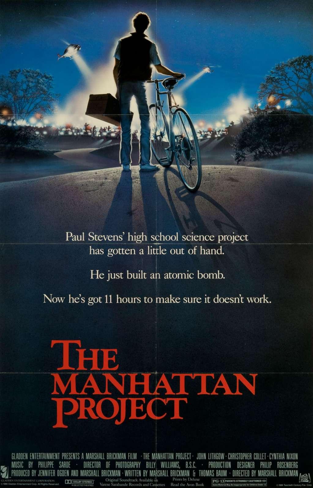 The Manhattan Project kapak
