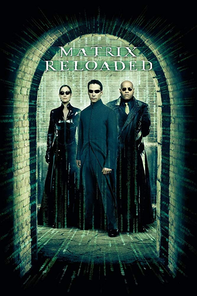 The Matrix Reloaded kapak