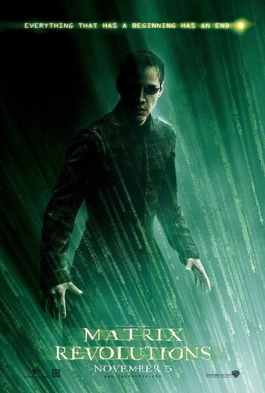 The Matrix Revolutions kapak