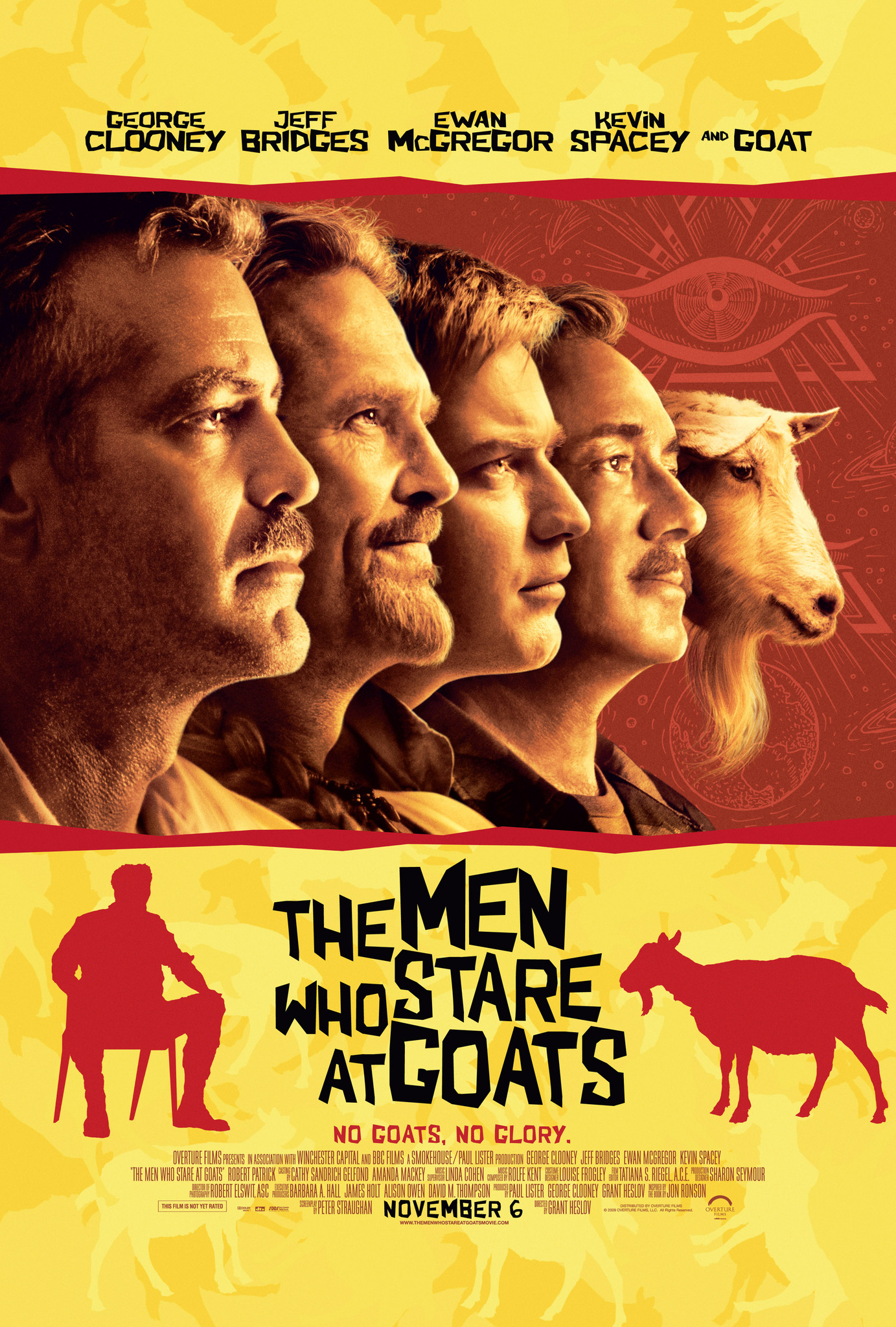 The Men Who Stare at Goats kapak