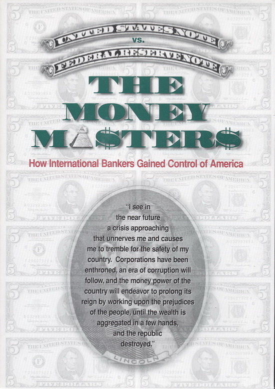 The Money Masters kapak