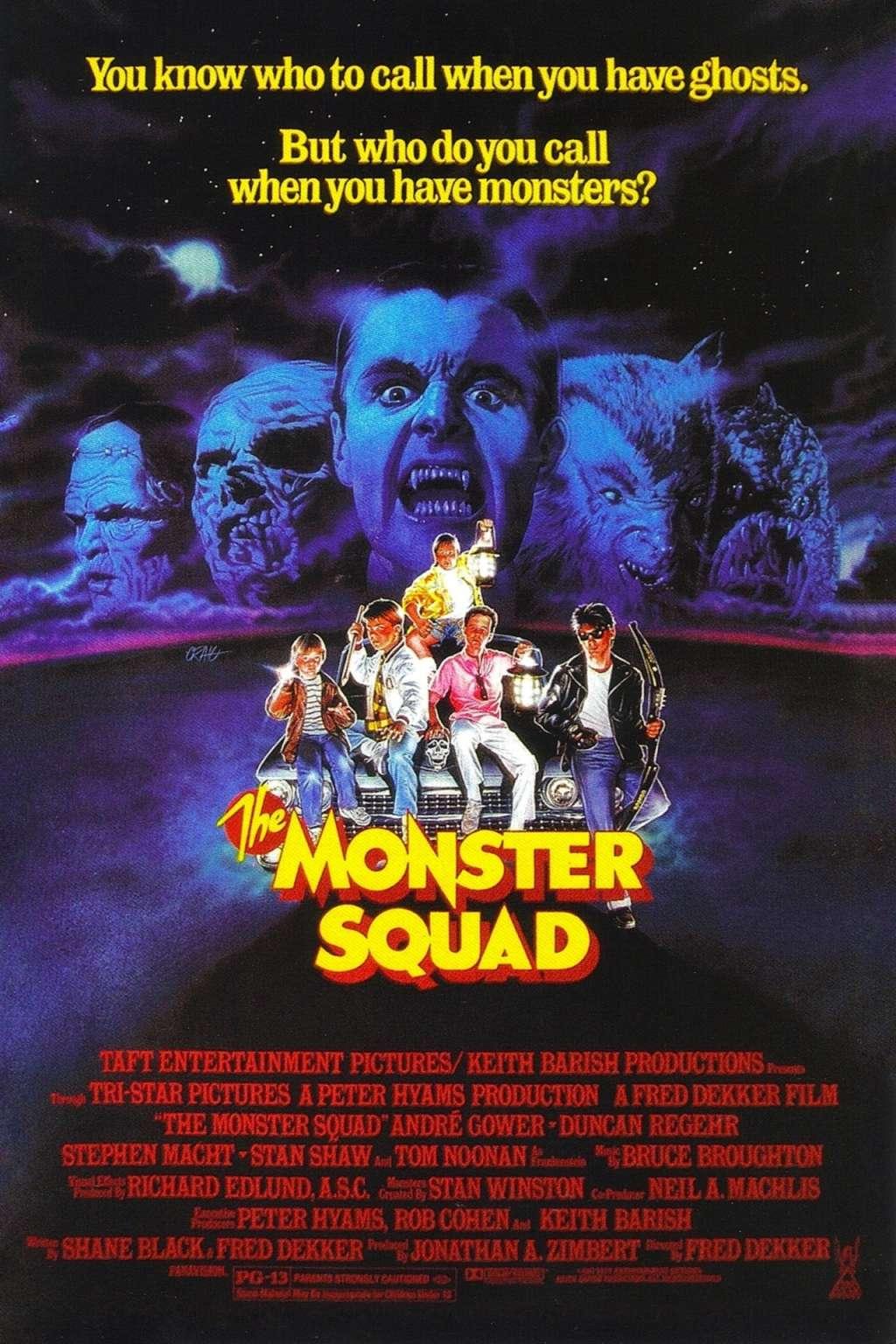 The Monster Squad kapak