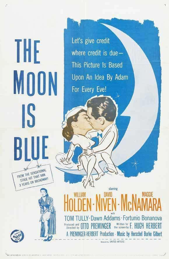 The Moon Is Blue kapak