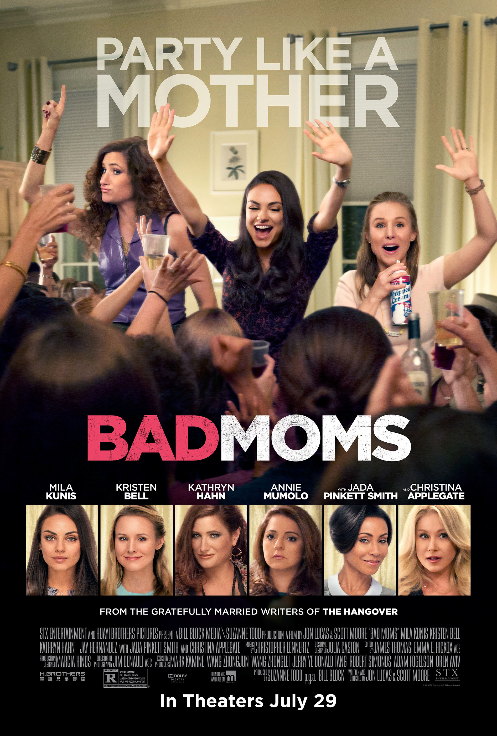 Bad Moms kapak