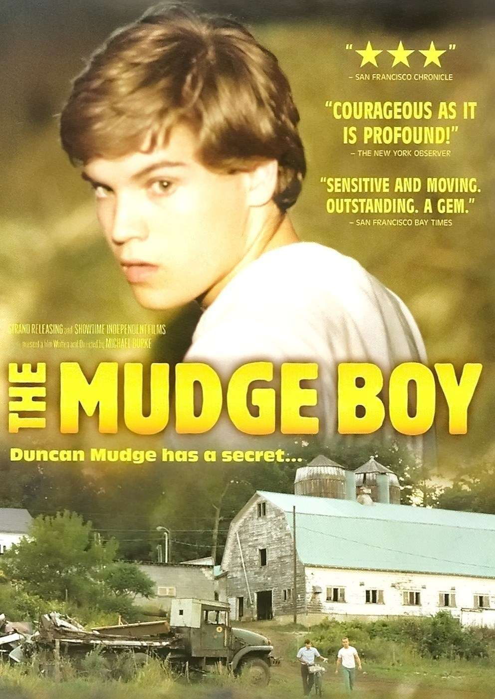 The Mudge Boy kapak