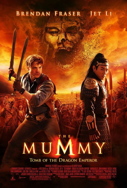 The Mummy: Tomb of the Dragon Emperor kapak