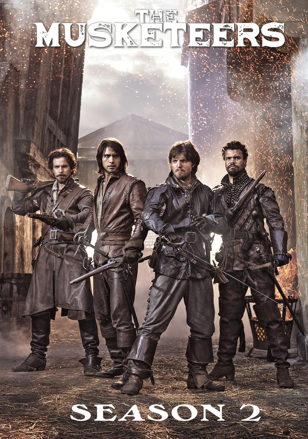 The Musketeers kapak