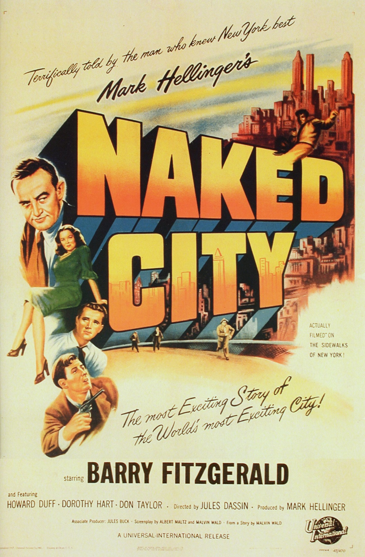 The Naked City kapak